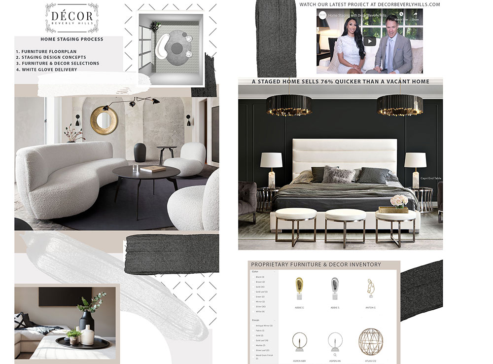 home staging services by Décor Beverly Hills